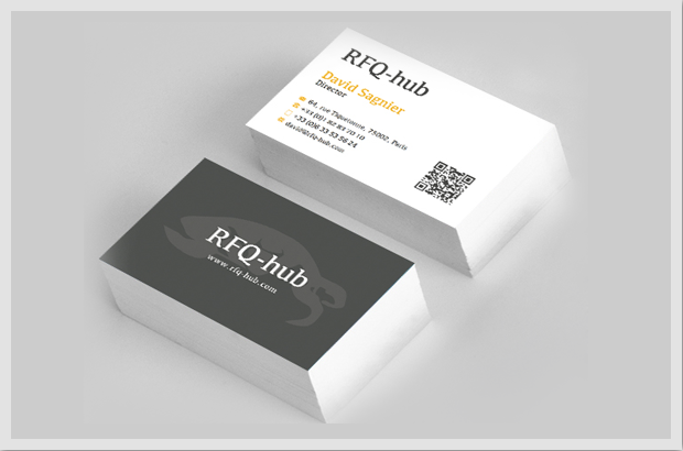 RFQ business cards